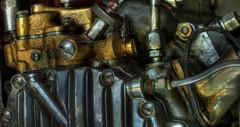 Pressure Fittings (arbyreed) Tags: arbyreed machine engine motorcycle close closeup hdr metal metallic oil greese legends legendsmotorcycleemporium
