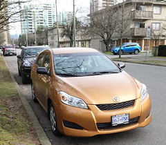 2010 Toyota Corolla Matrix (D70) Tags: burnaby britishcolumbia canada 2010 toyota corolla matrix