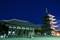 興福寺 Kofuku-ji Temple (ELCAN KE-7A) Tags: 日本 japan 奈良 nara 興福寺 kofukuji temple 五重塔 ペンタックス pentax k3ⅱ 2019