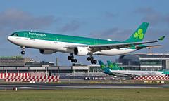 EI-GAJ - Airbus A330-302 - DUB (Seán Noel O'Connell) Tags: aerlingus shamrock eigaj airbus a330302 a330 a333 dublinairport dub eidw sfo ksfo ei146 ein146 aviation avgeek aviationphotography planespotting