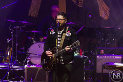 The Decemberists 1 (Gig Junkies) Tags: thedecembertists folk music livemusic alberthall guitar colinmeloy canon cameracamera photos photopit photographer folkmusic manchester mcr ilovemcr lights band liveband