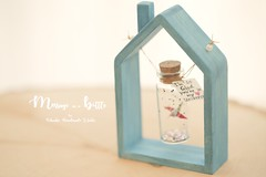 Tiny message in a bottle with handmade wood House floating frame/floating Swing,Personalised Gift,love,Valentine Card,Gift for her/him,Girlfriend gift, birthday card, holiday card and funny card ideas (charles fukuyama) Tags: handmadecard custom unique cute art homedecor deskdecor lovecard greetingscard paper seasonalcard partygift personalizedgift longdistancegift birthdaygift kikuikestudio animals miniatures initials ornament xmas holidaydecor christmascard xmasdecor