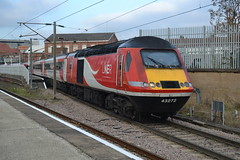 LNER Class 43 43272 - Doncaster (dwb transport photos) Tags: kner londonnortheasternrailway hst 43272 locomotive doncaster