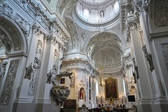 Vilnius: Church of St. Peter and St. Paul (zug55) Tags: vilnius lithuania litauen vilna wilna wilno baltic baltics lietuva lietuvosrespublika unesco unescoworldheritagesite worldheritagesite worldheritage welterbe weltkulturerbe churchofstpeterandstpaul stpeterandstpaul church kirche antakalnis baroque barock stucco giovannipietroperti giovannimariagalli janzaor giovannibattistafrediani