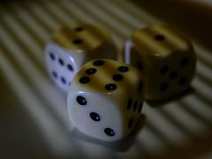 Prison Dice (BeMo52) Tags: cubes dice dots dotsandstripes eggcutter eierschneider macro macromondays makro punkte schatten shadow streifen wüfelspiel würfel