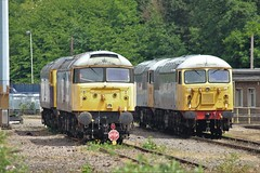 Two Rail Operations Group Class 47's and two UKRL Class 56's (Adam Fox - Plane and Rail photography) Tags: loco railroad br railways railway british train rail hauled diesel locomotive charter locos locomotives grids duffs duff grid 56104 leicester lip