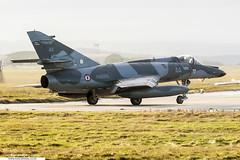 44 - Dassault Super Etendard - Flotille 17F, Aeronavale (KarlADrage) Tags: 44 dassaultsuperetendard 17f flotille17f egqs raflossiemouth aeronavale frenchnavy banlandivisau