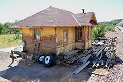 Perkinsville Railway Station, Arizona (M McBey) Tags: perkinsville arizona clarkdale verdecanyonrailroad derelict abandoned station ghosttown films ruin