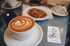 Counter Culture (samanthahestad) Tags: coffee latte cafe dessert snack drink nyc new york city winter
