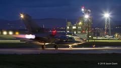 ZA551 043 Tornado GR4 (Sonic Images) Tags: za551 043 tornado gr4 raf lossiemouth night photography bomber jet joint warrior nato