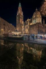 Navidad en Toledo (kiko_-46-) Tags: paisajes nightphotography landscape noche nocturnasurbanas paisajesnocturnos paisajesurbanos construcciones catedral export efectos toledo españa es