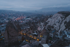 Göreme (@see1st) Tags: turkey cappadocia landscape nature mountains sonya7s sony travel adventure goreme explore mountain canyon sky grass rock mountainside