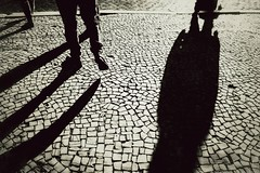 There is always someone behind you (manfrednikolai) Tags: city people shadow