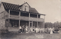 """NW Honor Beulah MI c.1915 RPPC RESORT OWNERS AND GUESTS WORDENS RESORT ON ARBORVITAE West End of Big Plate Lake BIG PLATTE LAKE RESORT DAYS Benzie Natives The Worden Family & Guests (UpNorth Memories - Donald (Don) Harrison) Tags: vintage antique postcard rppc """"don harrison"""" """"upnorth memories"""" upnorth memories upnorthmemories michigan history heritage travel tourism restaurants cafes motels hotels """"tourist stops"""" """"travel trailer parks"""" cottages cabins """"roadside"""" """"natural wonders"""" attractions usa puremichigan """" """"car ferry"""" railroad ferry excursion boats ships bridge logging lumber michpics uscg uslss"""