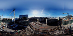 Chase Center - future home, Golden State Warriors (samayoukodomo) Tags: droneview dronephotography dronepointofview aerialview aerial aerialphotography quadcopter takingthedroneouttogethigh drone djimavicpro mavicpro 360° 360 equirectangular lifeis360 birdseyeview