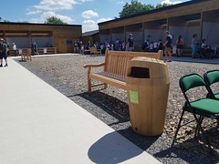 Sherwood™ Litter Bin (Glasdon International) Tags: glasdon glasdoninternational sherwood bin bins litterbin litter woodeffect natural wooklook timbereffect public outdoor