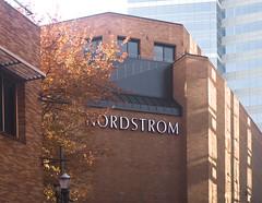 Nordstrom Corner (Orbmiser) Tags: olympus 40150mm f4056 r 43rds em1 mirrorless omd ore oregon portland cityscape building olympus40150mmf4056r tree autumn fall