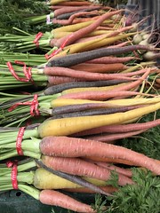 Carrots from Underwood Farms (TomChatt) Tags: food farmersmarket