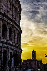 Colosseo (divicoa) Tags: roma romacaputmundi rome landscape lazio paesaggio panorama colosseo
