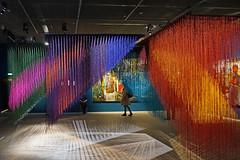 Brumas d'Olga de Amaral (Fondation Cartier, Paris)
