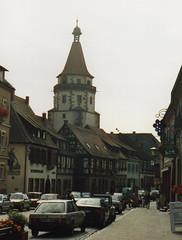 1991 Germany // Gengenbach (maerzbecher-Deutschland zu Fuss) Tags: 1991 germany deutschland maerzbecher gengenbach deutschlandzufus deutschlandzufuss badenwürttemberg