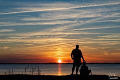 Sunset over Lake Washington (Michael Seeley) Tags: florida lakewashington melbourne mikeseeley sunset