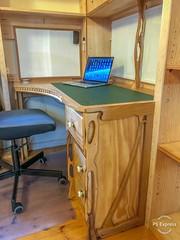 Art Nouveau-inspired desk (ijerry1) Tags: artnouveau desk furniture