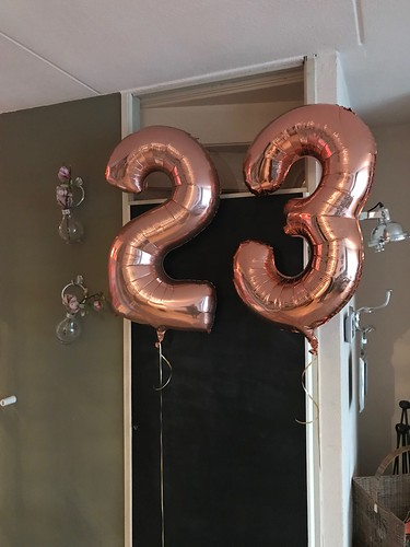 Folieballon Cijfer 23