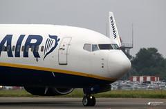 EI-EKP Boeing 737-8AS, Ryanair, Bristol Airport, Lulsgate Bottom, Somerset (Kev Slade Too) Tags: eiekp boeing737 ryanair fr8217 ryanair99gk eggd bristolairport lulsgatebottom somerset