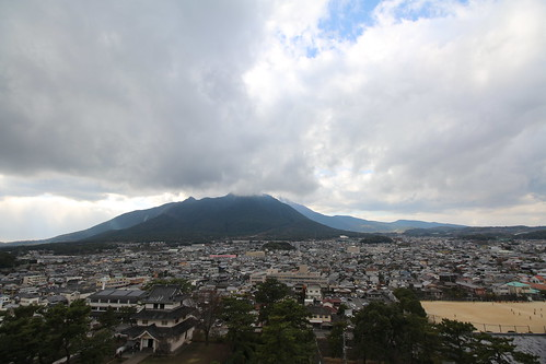 West From Shimabara Castle