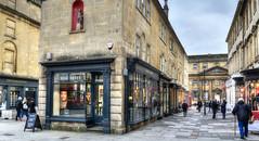 Old Bond Street, Bath, Somerset (Baz Richardson) Tags: somerset bath oldbondstreet shops streetscenes royalmineralwaterhospital citycentres georgianarchitecture gradeiilistedbuildings