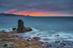 Camino al Confital (Gran Canaria) (David Hdez. ) Tags: mar océano sea ocean puestadesol atardecer sunset canarias grancanaria islascanarias canaryisland