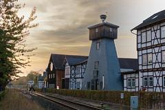Bohrturm und Museum am Gradierwerk (~Nordlicht~) Tags: thüringen badsalzungen architektur wartburgkreis