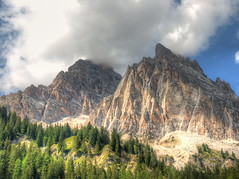 The majesty of the Dolomites (Digidoc2) Tags: mountain mountainrange mountainpeak hill ridge valley scenic pinnacle dolomites italy landscape country rural alpine clouds