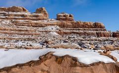 Sandstone & Snow (Star Wizard) Tags: blanding utah unitedstates us