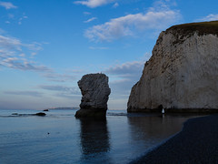 (absoluteforecast) Tags: stack jurassic coast shingle stone chalk water sea beach ocean cliff blue
