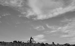 ride (Arieh Grosman) Tags: fujifilm desert bike kid