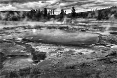 Yellowstone (photographybytomlane) Tags: yellowstone leica leicasl monochrome blackandwhite landscape