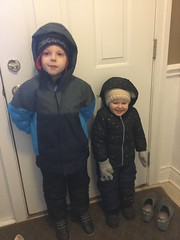 """Paul and Dani Get Ready to Go Out in the Snow • <a style=""""font-size:0.8em;"""" href=""""http://www.flickr.com/photos/109120354@N07/39967597793/"""" target=""""_blank"""">View on Flickr</a>"""