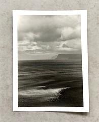 blakksnes, Iceland (alex omarsson) Tags: ilfordphoto kodaktrix400 nikonn70 nikkor105mm darkroomprint silvergelatinprint rodinal
