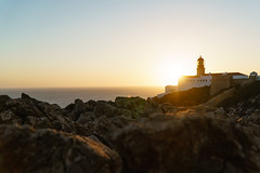 _DSC2375 (chris_klinger) Tags: portugal algarve lighthouse leuchturm sun sea light cliffs landscape atlantic ocean