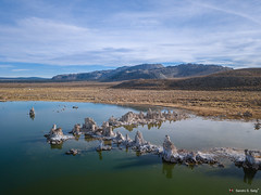 South Tufa Area - Mono Lake, CA, USA (Sandro Selig) Tags: bishop california usa us nikon d500 d810 sandroselig nophotoshop sierranevada easternsierra sierra nevada ca roadtrip usroadtrip aerialphoto aerialphotografy luftaufnahme luftbildfotografie sandro selig