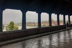 Borgo Ticino visto dal Ponte coperto (giorgiorodano46) Tags: novembre2018 november 2018 giorgiorodano iphone pavia lombardia italy lombardy autumn rain pioggia borgoticino ticino river fiume ponte bridge pontecoperto autunno