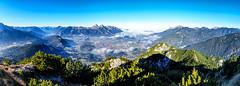 Talkessel von Reutte vom Zunterkopf (stefangruber82) Tags: alpen alps tirol tyrol mountains berge panorama fog nebel lech