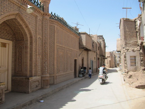Old city, Kashgar, Xinjiang, China