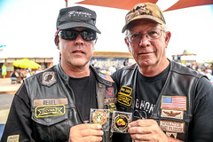 """1 VCRTS 2018 Field of Flags Anthony """"rebel"""" Indrieri and John Austin SLP_2865"""