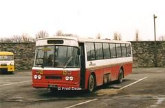 Bus Eireann MS151 (151IK). (Fred Dean Jnr) Tags: buseireann ms151 m151 151ik ik broadstonedepotdublin february1998 leyland leopard cie msl schoolbus busscoile