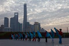 Shanghai, The Bund, early morning (jeansebd) Tags: urbainetarchitecture chine publication shanghai webgalleries architecture china urbain urban