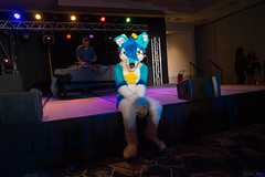 DSC09063 (Kory / Leo Nardo) Tags: pacanthro pawcon paw con pac anthro convention fur furry fursuit suiting mascot sona fursona san jose doubletree hotel california dance party deck animals costuming pupleo 2018