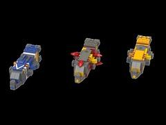 Qwaar-Jet type Heavy Cruiser (kylerjadams) Tags: homeworld taiidan homeworldcataclysm lego space cruiser somtaaw